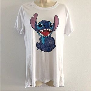 Disney XL short sleeve t-shirt top lilo & Stitch